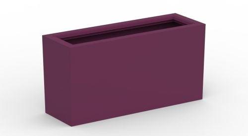 Decorpro D12007-5R-44 Aberdeen Planter - Purple