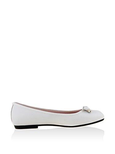 Las Lolas Ls0424, Bailarinas para Mujer Blanco Roto