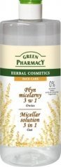 Green Pharmacy Micellar Solution 3 In 1 Oat 500Ml