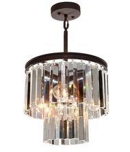 - Artcraft Lighting El Dorado 3-Light Mini Chandelier, Java Brown