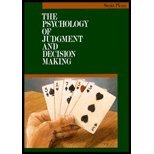 img - for The Psychology of Judgment & Decision Making by Plous,Scott. [1993] Paperback book / textbook / text book