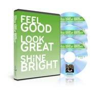 Feel Good Look Great Shine Bright - Ellen Barrett - DVD & 2 CDs