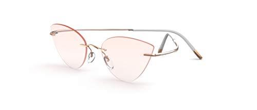 Silhouette eyeglasses ESSENCE color size very W/DEMO lens (Rose Spirit 54mm-17mm-140mm)