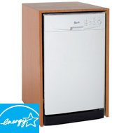 18'' Built-In Dishwasher Finish: White by Avanti