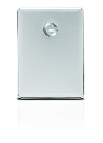 G-Technology 1TB G-DRIVE mobile USB-C (USB 3.1 Gen 1) Portable External Hard Drive, Silver - (Best G-technology External Hard Drive For Macbook Pros)