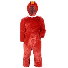 Sesame Street Elmo Comfy Fur Boys Costume, Large/4-6 -