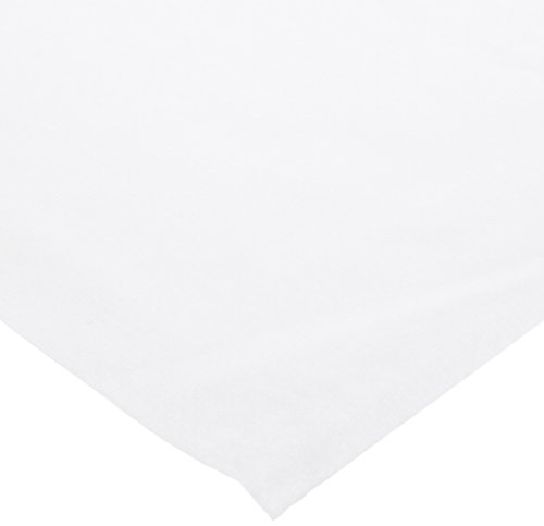 Hoffmaster 210431 Linen-Like Folded Tablecover, 82'' Length x 82'' Width, White (Case of 24) by Hoffmaster