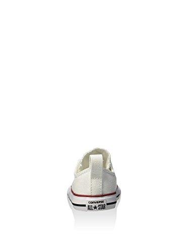 CONVERSE lágrima óptica sencilla ct 723232 zapatos de bebé blancos unisex Blanco