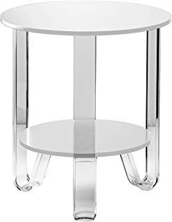 Jordan Accent Table- White