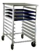 New Age 1311 Half Size Bun Pan Rack by New Age