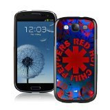 Red Hot Chili Peppers logo 1 Black Samsung Galaxy S3 I9300 Screen Cellphone Case Durable and DIY Cover