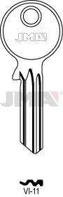 10 X VI-11 JMA/VIRO Key Blanks