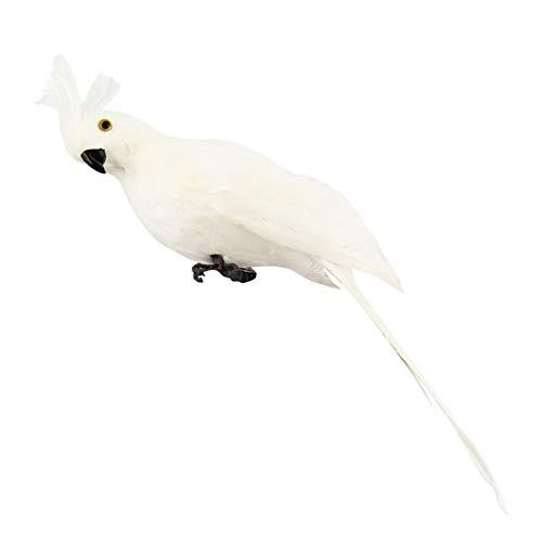 (Sizet Patio Home Garden Decorative Parrots, Artificial Simulation Foam Bird Feather Sparrow Plush Toy Yellow Bird Cute Stuffed Animal Doll)