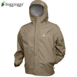 (Frogg Toggs Java Toadz 2.5 Jacket, Stone, X-Large)