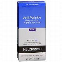 Neutrogena Ageless Intensives Deep Wrinkle Moisture, Night, 1.4 oz - 2pc