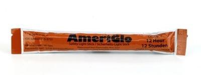 Mutual Industries 17759-45-12 Cyalume 12 hours Lightstick, 6'' Length, Orange (Pack of 10)