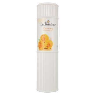 Enchanteur Charming Perfumed Talc Powder The exotic sensual fragrance of Rose Maguet and soft Cedarwood, 200g