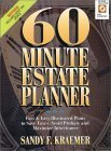 60 Minute Estate Planner, Kraemer, Sandy F., 0130961019