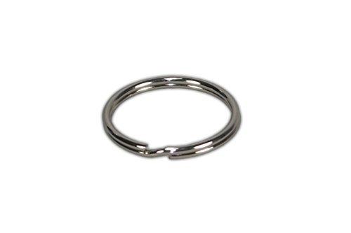 4 opinioni per 100 anelli per portachiavi 30mm in acciaio rinforzato con Nichel produzione