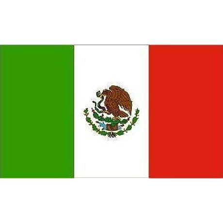 Mexico Flag 6X10 Foot Nylon