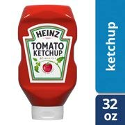 Heinz Tomato Ketchup 32 Ounce, Squeeze Bottle (Pack of 2) Gluten Free. (Heinz Tomato Original Ketchup 32 Ounce Bottle)