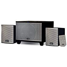 Theater Solutions TS220 Powered Bluetooth 2.1 Speaker System with FM Tuner Home Multimedia Computer Gaming