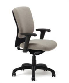 Highmark 4107-S2-A56 Swivel Tilt Chair Real Red