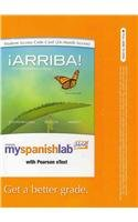 Myspanishlab With Pearson Etext    Access Card    For  Arriba   Comunicac On Y Cultura  Multi Semester Access   6Th Edition