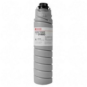 RIC885149 - Ricoh Type 3100D Black Toner Bottle