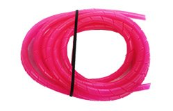 - Twis-Les Electrical Cord Cover & Detangler - Hot Pink