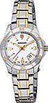 Wenger Ladies Two Tone Swiss Made Watch W70496