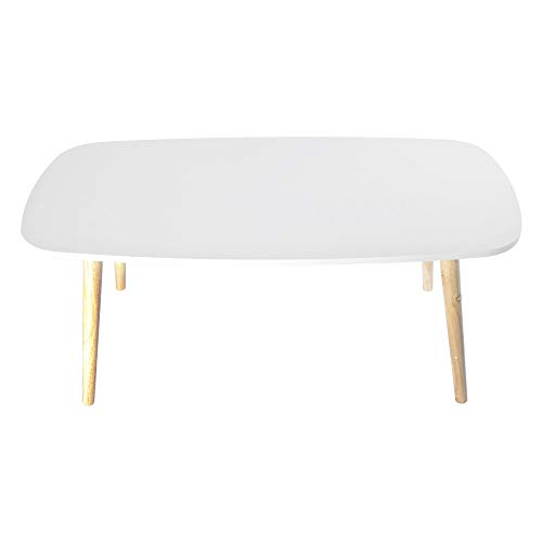 Chenway Household Coffee Desk Modern Simple Desk,Medium-Sized Table for Home Office Desk,39.3719.68 Inch[Ship from USA Directly] (White) by Chenway (Image #1)