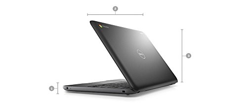 Dell ChromeBook 11 HD 11.6in (1366 x 768) Laptop Educational PC (Intel Celeron 2955U, 4GB Ram, 16GB Solid State SSD, Web Camera, WIFI, HDMI) Chrome OS (Renewed)