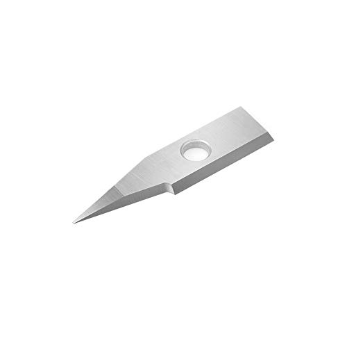 (Amana Tool RCK-361 Solid Carbide Insert 30 Deg x 0.010 Inch V Tip Width Engraving Knife for In-Groove System)