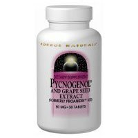 Pycnogenol, 75 MG, 60 Tabs by Source Naturals (Pack of 6) by Source Naturals