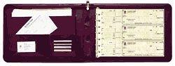 EGP Leather Check Portfolio,