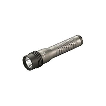 Streamlight Strion LED Rechargeable Flashlight with 120V AC/12V DC PiggyBack Charger, Gray (Ac Piggyback Charger)