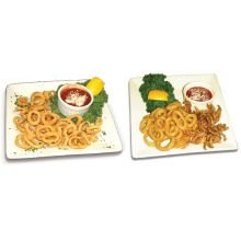 Pana Pesca Lightly Breaded Raw Squid/Calamari Ring and Tentacle, 5 Pound -- 2 per case.