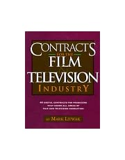 Contracts For Film And Tv Industry