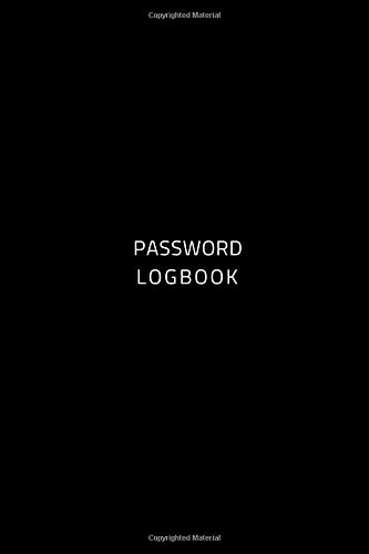 Pdf Money Password Logbook: Pocket Size Small Alphabetized Internet Password Logbook Simple Black