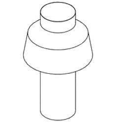 Pentair 460234 Indoor and Outdoor Vent Kit Replacement MimiM