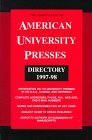 The Association of American University Presses Directory 1997-1998, AAUP Staff, 0945103115