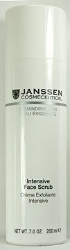 Janssen Cosmetics Demanding Skin Intensive Face Scrub 200ml Professional Size by Janssen