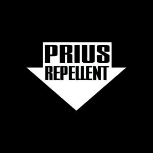 Price comparison product image Prius Repellent JDM Decal Vinyl Sticker|Cars Trucks Vans Walls Laptop| White |4.75 x 3.25 in|CCI1250