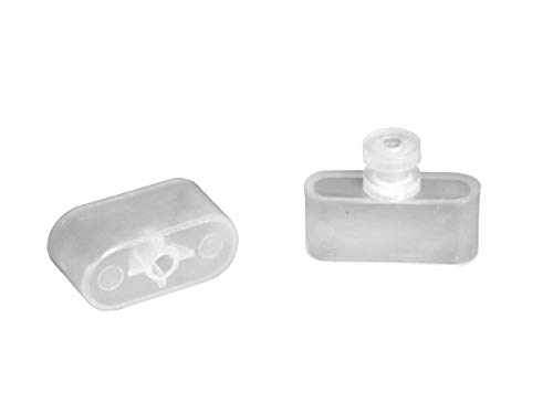 - RV Designer A300, Window Covering Hardware, Mini Blind Rail Ends, Use with A301 or A302, 2 Per Pack
