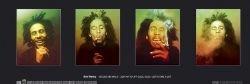 bob-marley-faces-poster-117x355