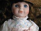 - Princess House JENNIFER porcelain collectible doll