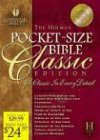 HCSB Pocket-Size Bible, , 1586400576