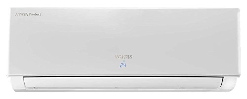 Voltas 1.5 Ton 5 Star Aluminum Inverter Split AC (White)