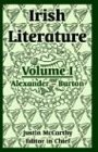 Irish Literature, , 1410216489